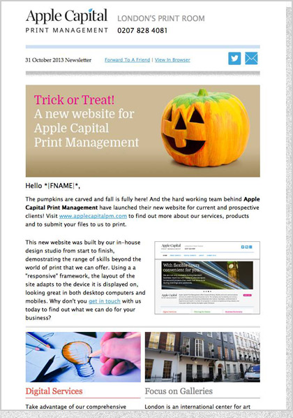 Apple Capital PM - HTML Email Design 2